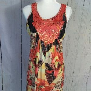 Live and Let Live Women's sleeveless dress NWT